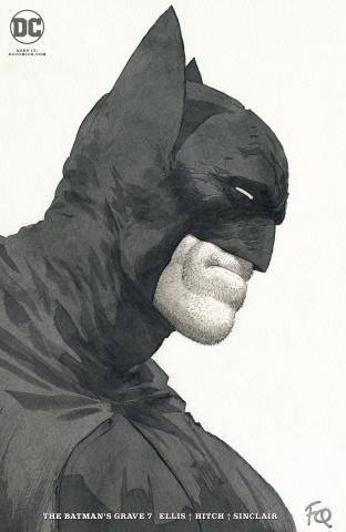 The Batman's Grave #7 (Card Stock Quitely Cover)
