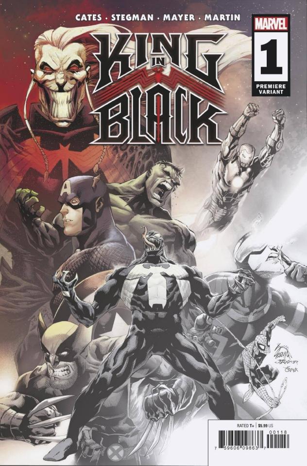 King in Black #1 (Stegman Premiere Cover)