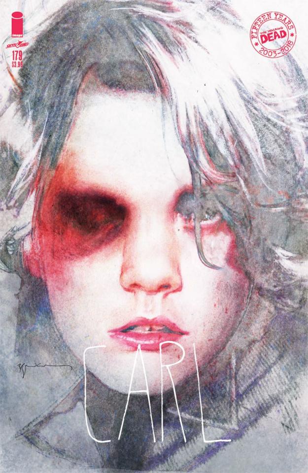 The Walking Dead #179 (Sienkiewicz Cover)