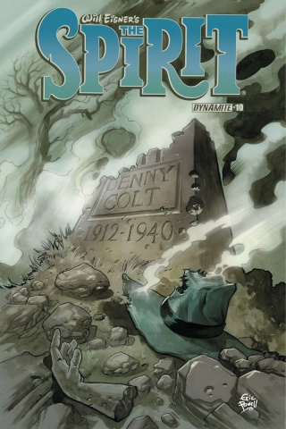 The Spirit #10 (Powell Cover)