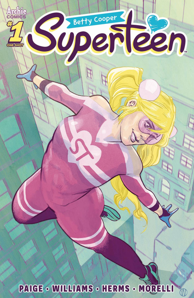 Betty Cooper: Superteen (Walsh Cover)