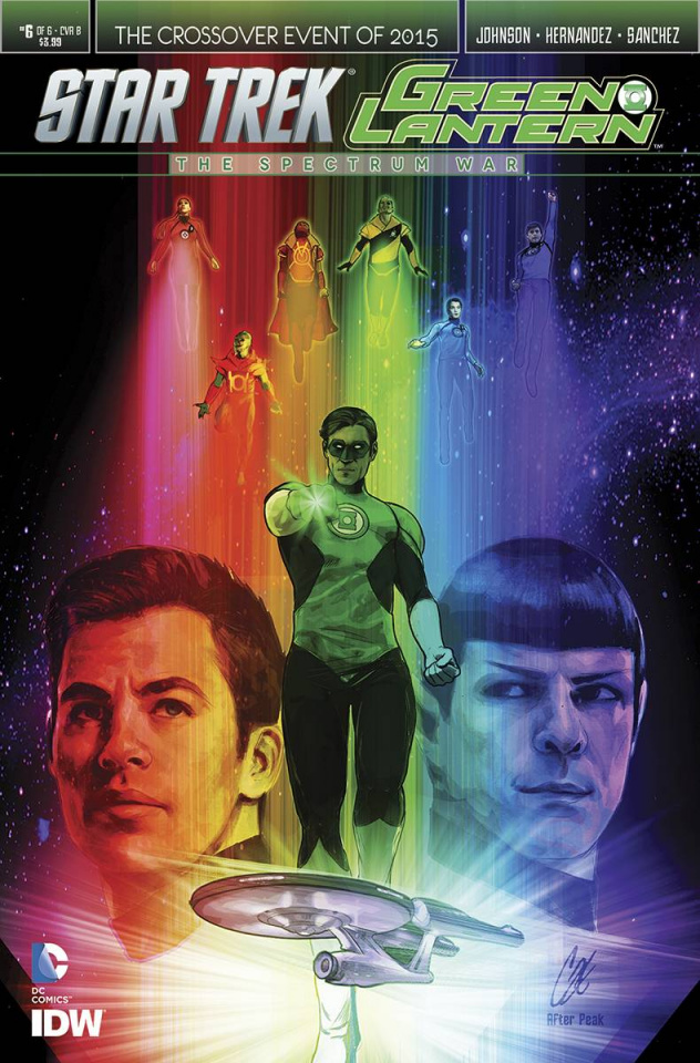 Star Trek / Green Lantern #6 (Staggs Cover)