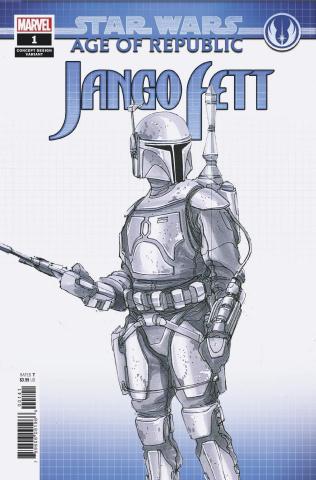 Star Wars: Age of Republic - Jango Fett #1 (Concept Design Cover)