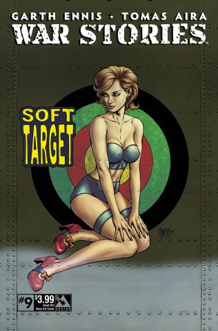 War Stories #9 (Good Girl Nose Art Cover)
