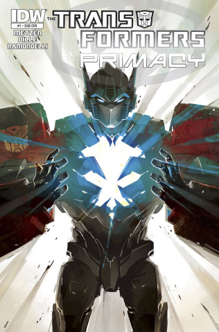 The Transformers: Primacy #1 (Subscription Cover)