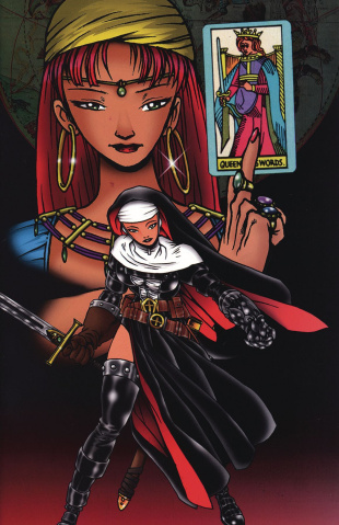 Warrior Nun #1 (Scorpio Rose Commemorative Cover)