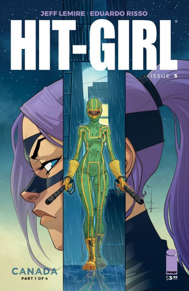 Hit-Girl #5 (Yildirim Cover)