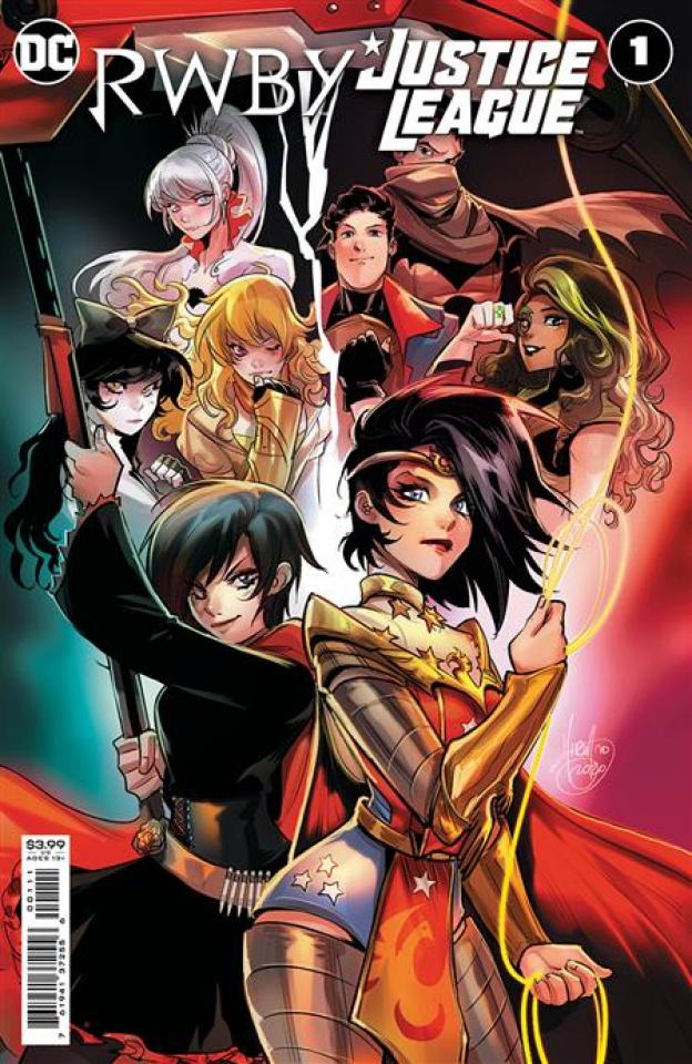 RWBY / Justice League #1 (Mirka Andolfo Cover)
