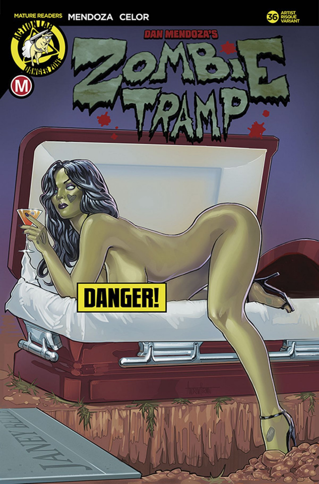 Zombie Tramp #36 (Herman Risque Cover)