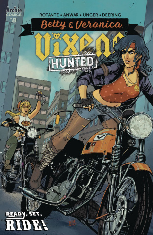 Betty & Veronica: Vixens #8 (Anwar Cover)