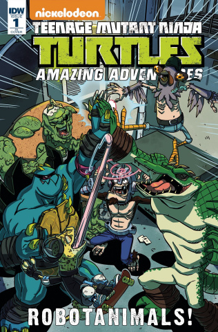 Teenage Mutant Ninja Turtles: Amazing Adventures - Robotanimals #1 (10 Copy Cover)