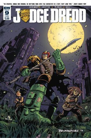 Judge Dredd #9 (Subscription Cover)