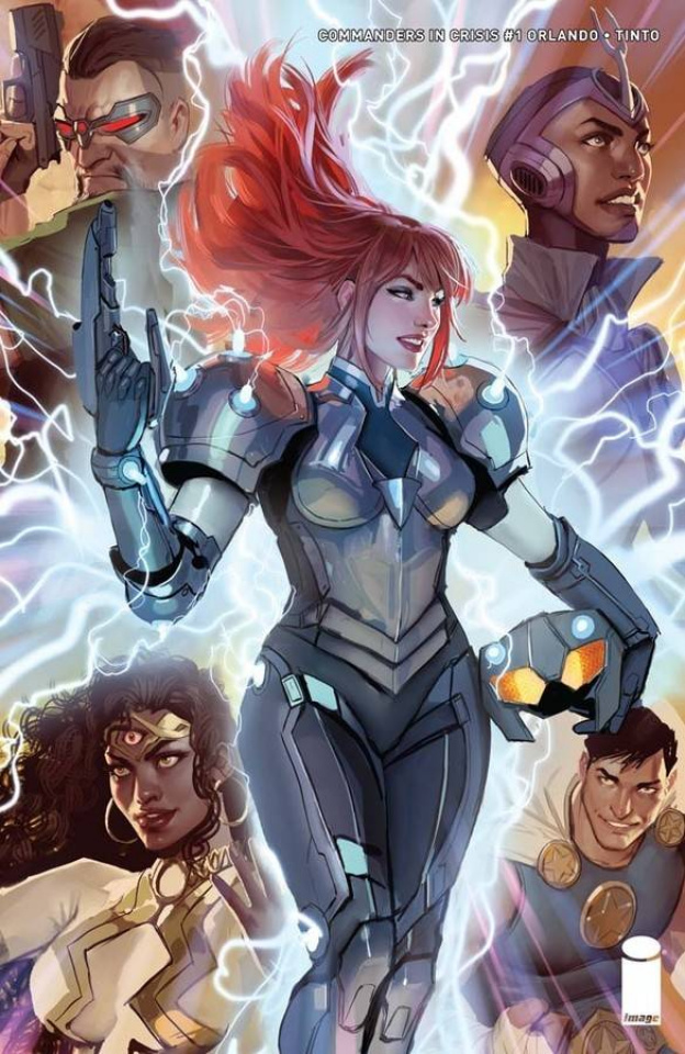 Commanders in Crisis #1 (Sejic Cover)