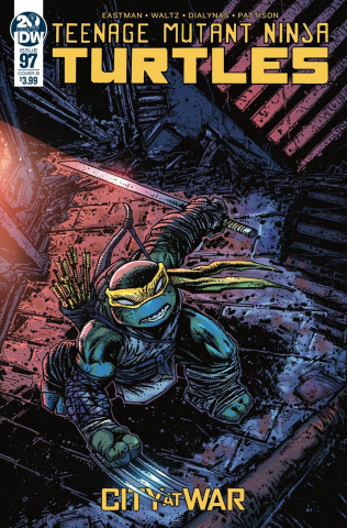 Teenage Mutant Ninja Turtles #97 (Eastman Cover)