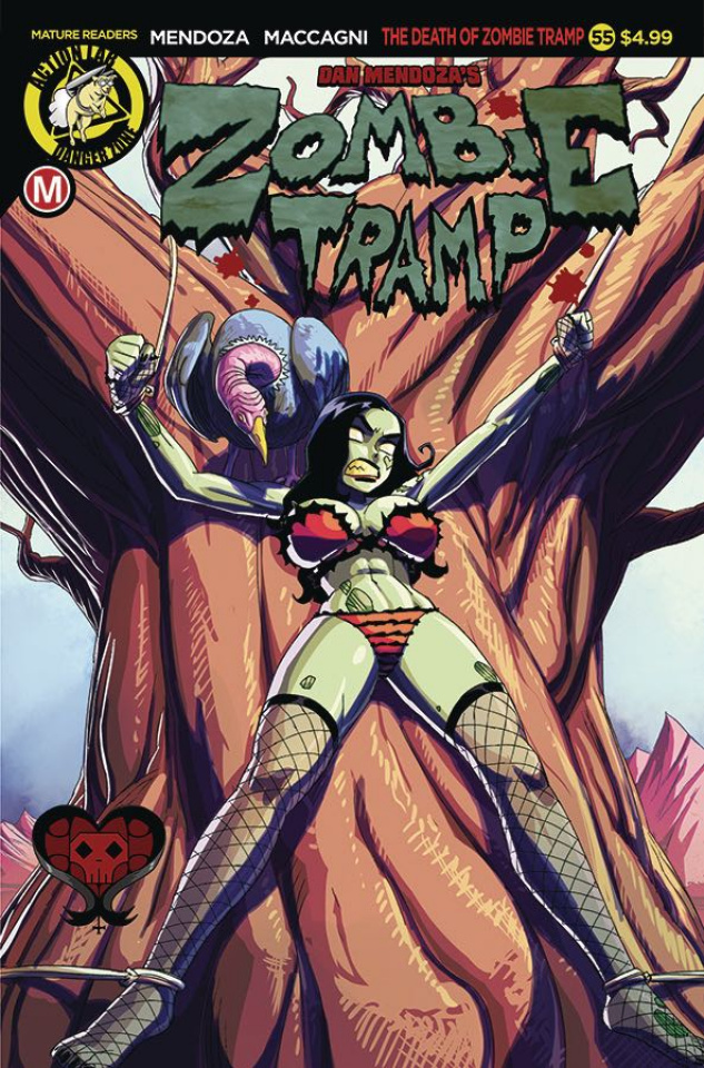 Zombie Tramp #55 (Winston Young Cover)