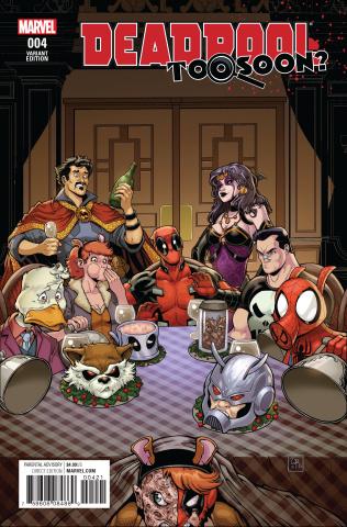 Deadpool: Too Soon? #4 (Robson Cover)