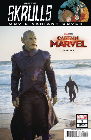 Meet the Skrulls #1 (Movie Cover)