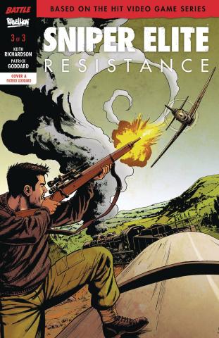 Sniper Elite: Resistance #3 (Goddard Cover)