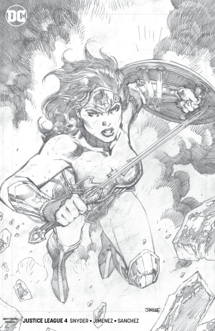Justice League #4 (Jim Lee Pencils Cover)