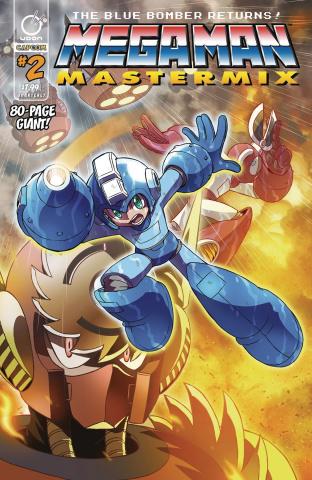 Mega Man: Mastermix #2 (Ariga Cover)