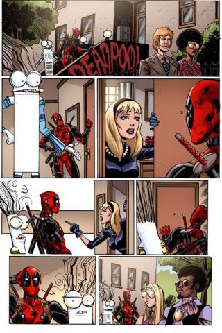 Deadpool #19 (Koblish Secret Comic Cover)