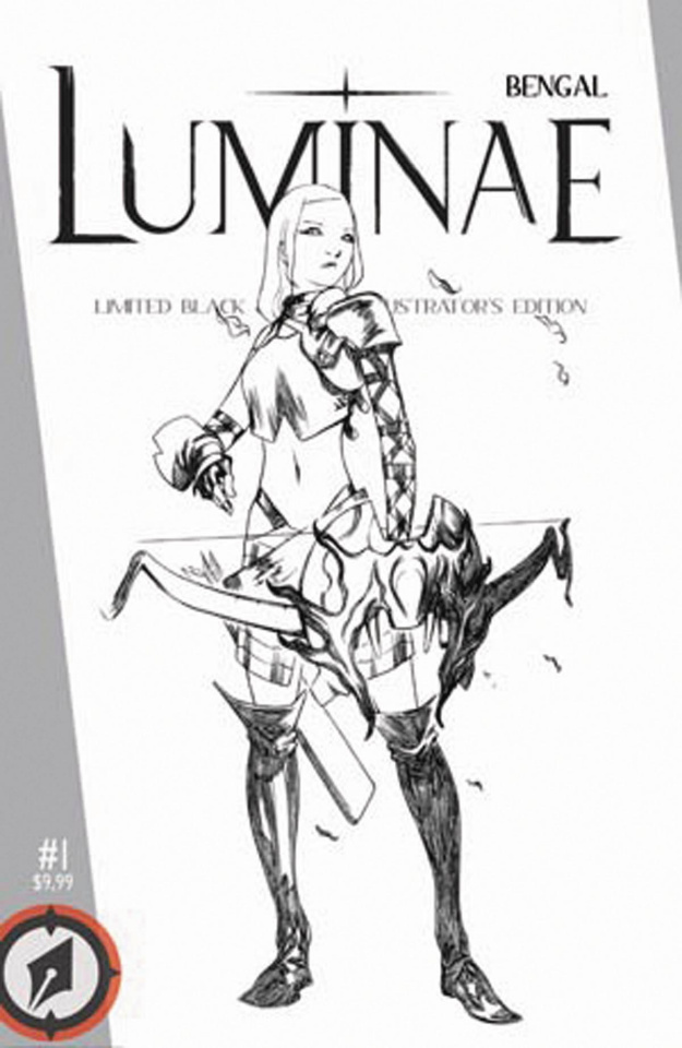Luminae (Limited Black & White Illustrator's Edition)