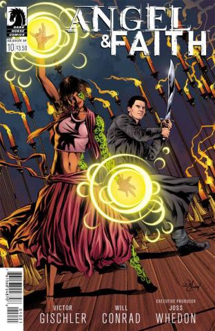 Angel and Faith, Season 10 #10 (Conrad Cover)