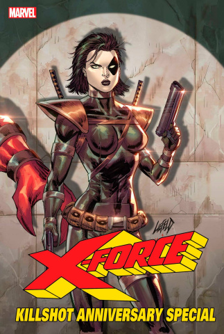 X-Force Killshot Anniversary Special #1 (Connecting E Cover)
