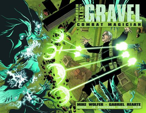 Gravel: Combat Magician #0 (Wrap Cover)