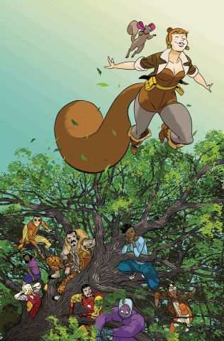 The Unbeatable Squirrel Girl #42 (Martin Cover)