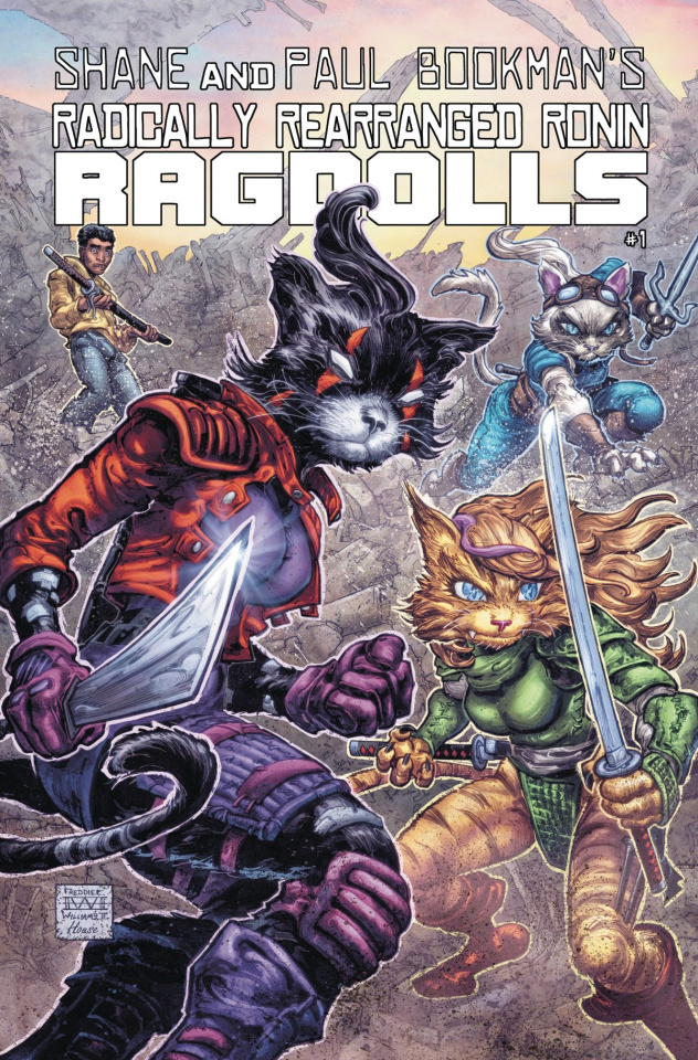 Radically Rearranged Ronin Ragdolls (Williams II Cover)