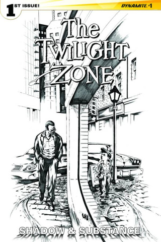 The Twilight Zone: Shadow & Substance #1 (20 Copy Lau B&W Cover)