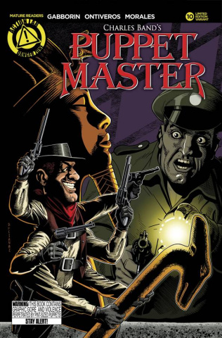 Puppet Master #10 (Lumsden Cover)