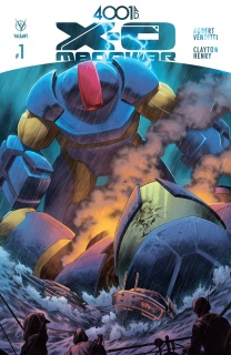 4001 A.D.: X-O Manowar #1 (Cafu Cover)