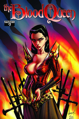 The Blood Queen #3 (Garza Cover)