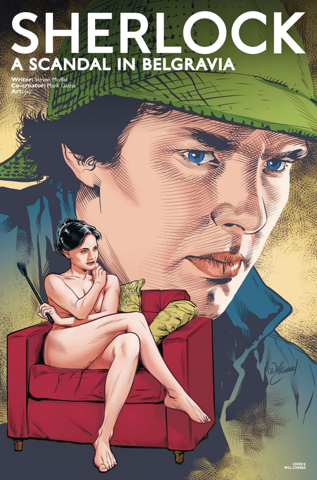 Sherlock: A Scandal in Belgravia #1 (Blank Conrad Cover)