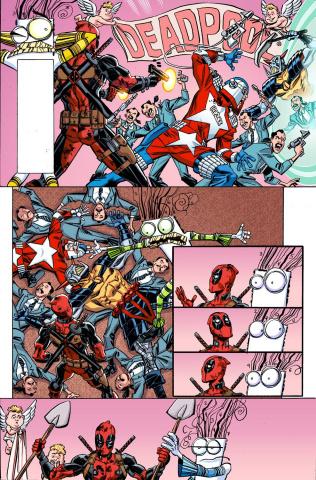 Deadpool #15 (Koblish Secret Comic Cover)