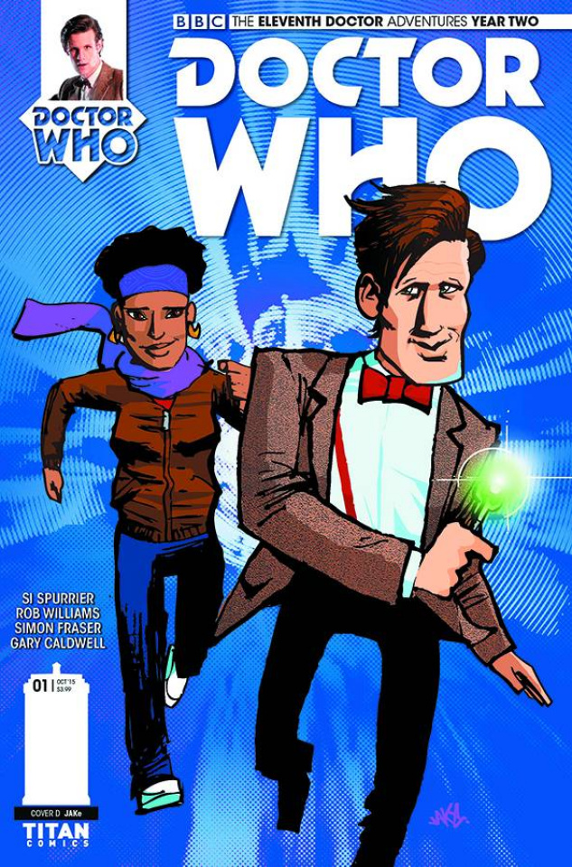 Doctor Who: New Adventures with the Eleventh Doctor, Year Two #1 (Jake Cover)