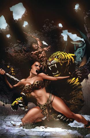 Pellucidar: Wings of Death #2 (Virgin Cover)