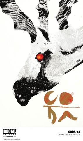 Coda #4 (15 Copy Shaw Cover)