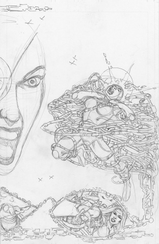 Sirens #2 (50 Copy Pencils Cover)