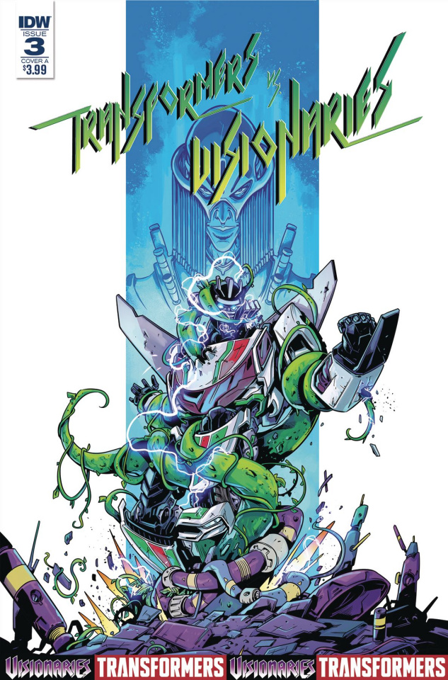 The Transformers vs. The Visionaries #3 (Ossio Cover)