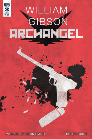 Archangel #3 (Paperback Cover)