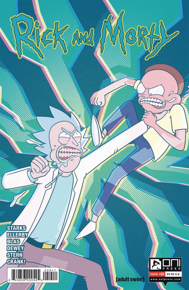 Rick and Morty #59 (Ellerby Cover)