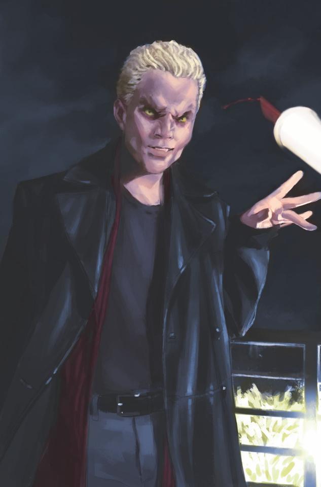 Buffy the Vampire Slayer #6 (Mercado Vamp Cover)