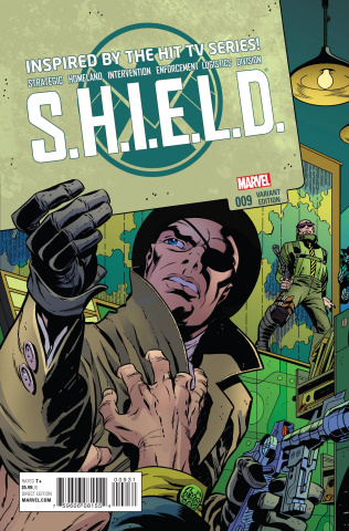 S.H.I.E.L.D. #9 (Kirby and Steranko Cover)