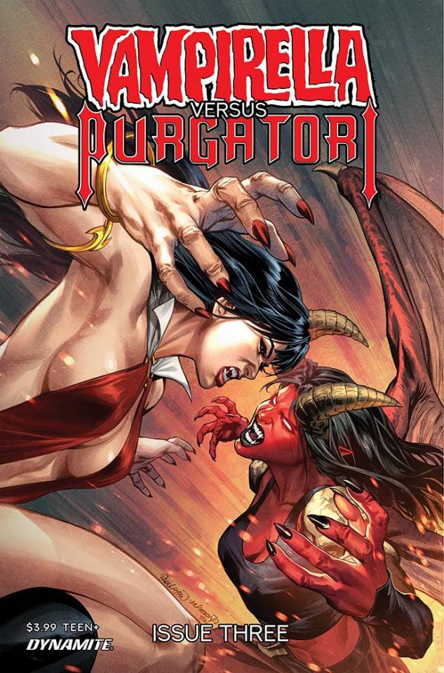 Vampirella vs. Purgatori #3 (Pagulayan Cover)
