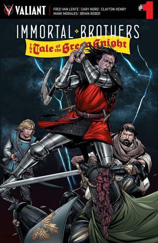 Immortal Brothers: The Tale of the Green Knight #1 (10 Copy Laming Cover)