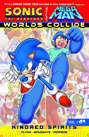 Sonic / Mega Man: Worlds Collide Vol. 1