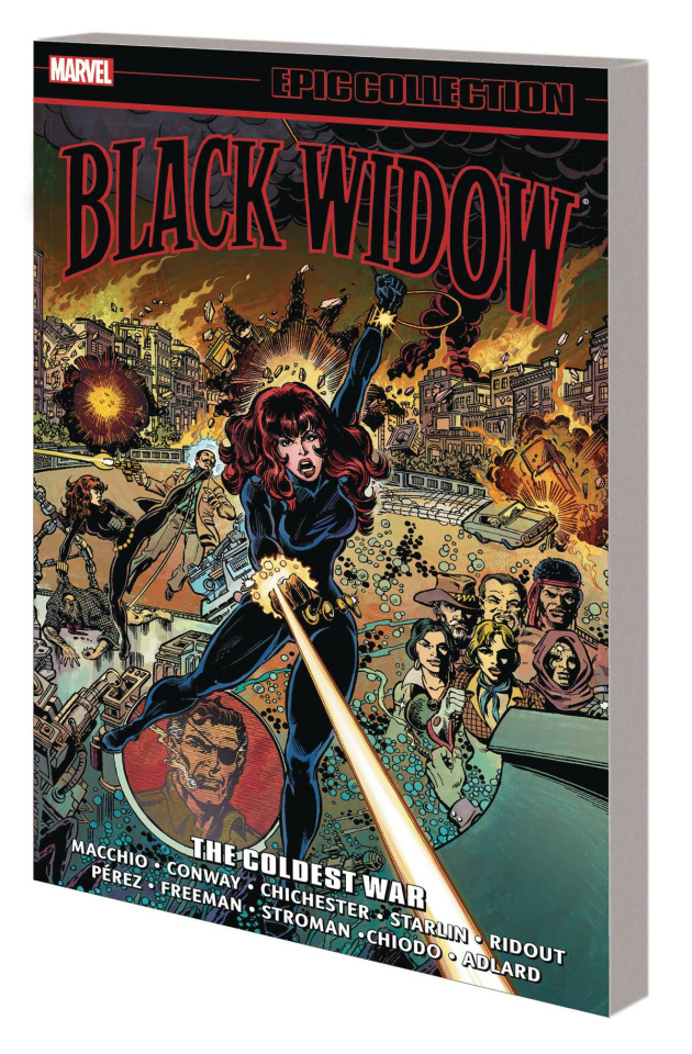 Black Widow: The Coldest War (Epic Collection)